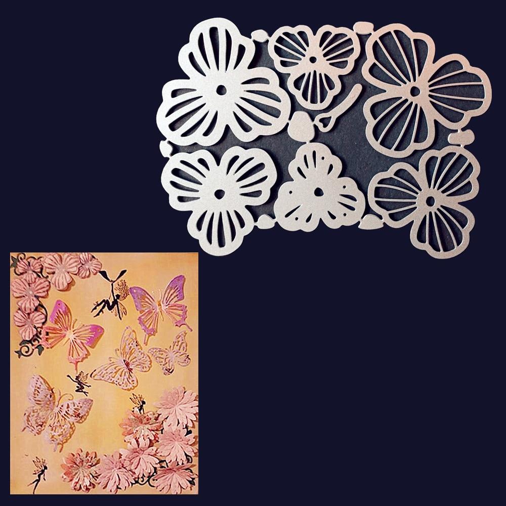 butterfly Metal Cutting Dies For DIY Scrapbooking Card Paper Album  X