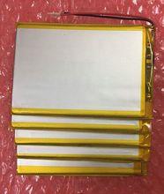 """Interiores Universal 3000 mah 3.7 V Batería Para 7 """"Irbis TZ46 TZ45 TZ70 TZ52 TZ02 TZ50 TZ51 Tablet Sustitución de cambio"""