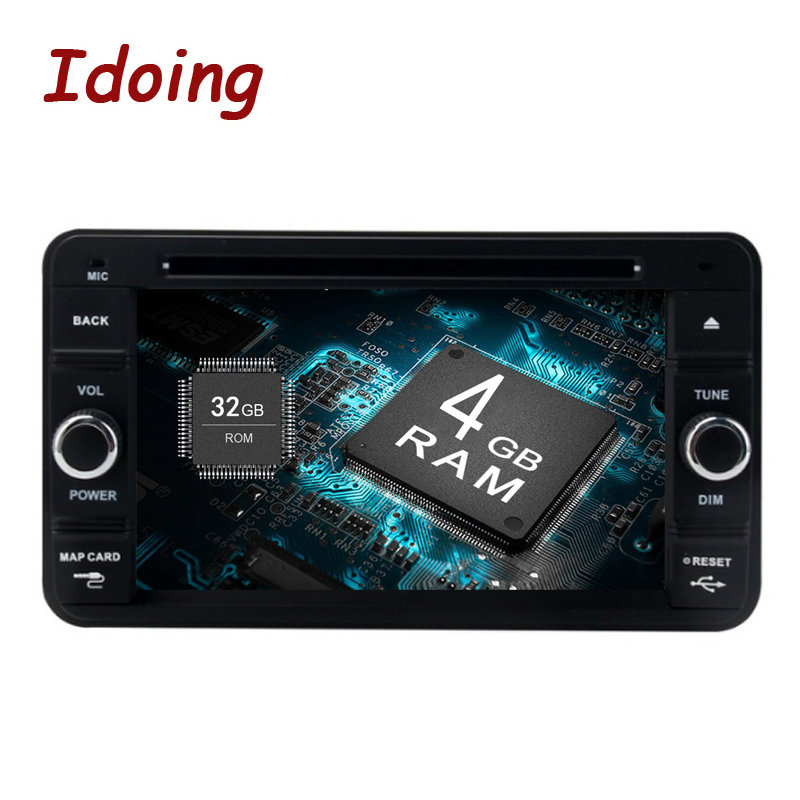 Idoing 6.2 4G+32G 8Core 2Din Car Android Radio DVD Player For Suzuki Jimny Android 8.0 Steering Wheel GPS Navigation Fast Boot