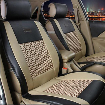 1PCS Universal car cushion pad fit for most cars single summer cool seat cushion four seasons general surrounded car seat cover