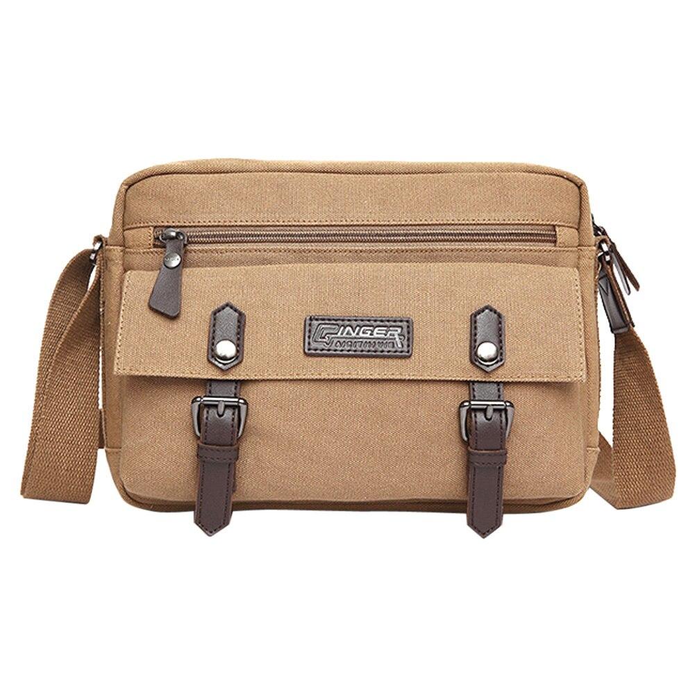 ФОТО Casual Canvas Patchwork  Men Bags,Leisure Breathable vintage Business Men's Messenger Bag Man Shoulder Bags Leisure Single Bags