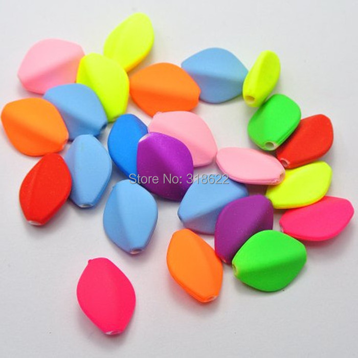 Beads & Jewelry Making Diligent 8 Colors For Picking Fluorescent Color Matte Neon Acrylic Spacer Beads100pcs/lot Diy Handmade Jewelry Bead