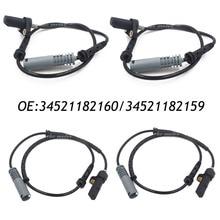 Новый Набор (4) ABS Датчика Скорости Передний Задний Левый Правый Для 97 98 BMW 528i E39 540i 34521182159 & 34521182160
