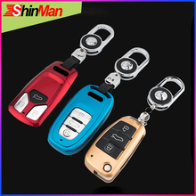 ABS key Cover key protect shell CAR key case FOR Audi A3 8P 8V A4 B7 B8 A6 C6 A8 TT Q7 Q3 Q5 S6 S3 A4L  A6L S5 S8 A5 A7 A8 car styling accessories for audi a6l q5l a3 q3 q5 s3 a4 a4l q7 a5 2018 key bag cover abs decoration protection key case for car