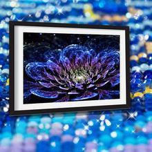 Красочные цветы Новое поступление Большой DIY Кристалл Алмазная мозаика 5D алмазная живопись 3d вышивка крестиком Набор Мозаика круглые бусины