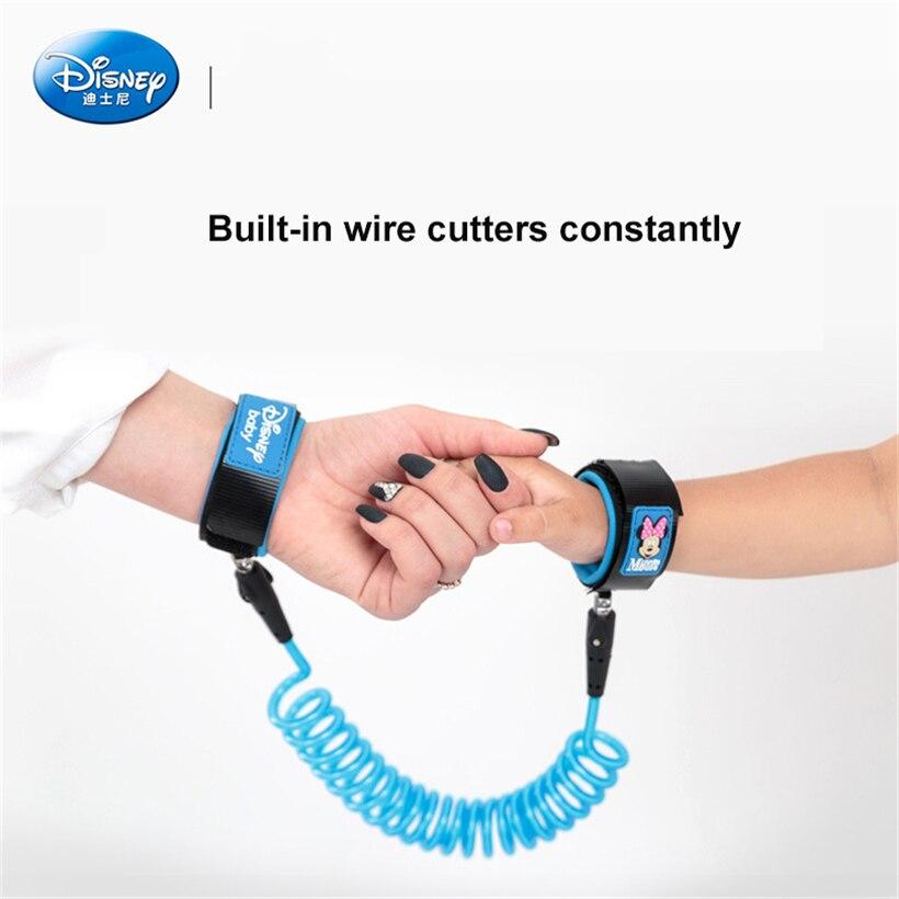 Disney Children's Anti-lost Bracelet Cartoon Minnie Children's Walking Auxiliary Belt Learning To Walk Children's Belt Shoulder
