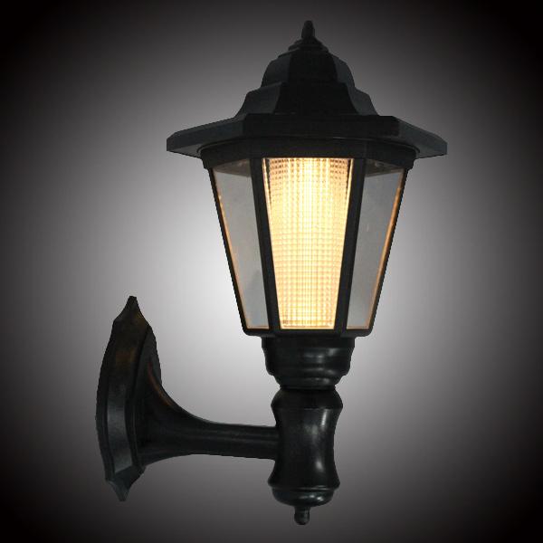Solar Powered Outdoor LED Solar Lamps Garden Pathway Wall Landscape Light  Wall Sconce For Home Outdoor
