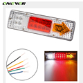 Onever Car Led Rear Lights Waterproof 12V ATV Truck Trailer Caravan Van Rear Tail Stop Reverser Indicator Turn Light Lamp