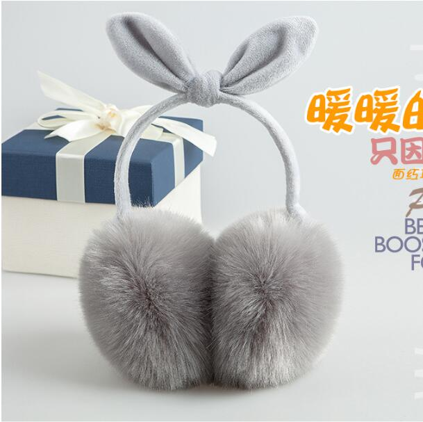 Earmuffs Fur Headphones Cartoon Ear Hood Cute Headphones