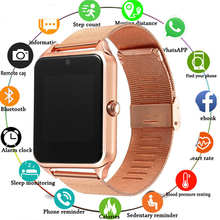 Smart Watch for Men Fitness Bracelet IP67 Waterproof with SIM Card Slot Women Smartwatch Clock for Apple iOS Android Phone Watch