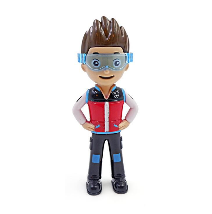 US $2 27 19% OFF|1PC Paw Patrol Ryder Action Figure Toys PVC Plastic  Figurine Model Doll Ryder Paw Patrol Toys Birthday Gifts Toy-in Action &  Toy
