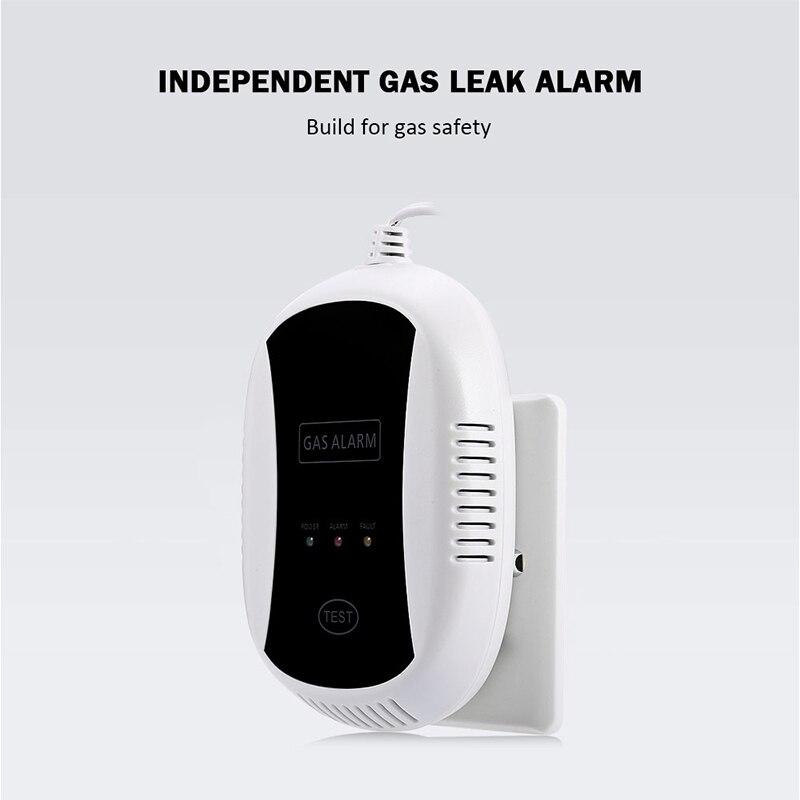 FIMEI PA-209 Indipendente Fotoelettrico Rilevatore di Fughe di Gas Naturale Casa Cucina Dispositivo di Sicurezza del Sensore di Sicurezza di Allarme Buzzer Siren
