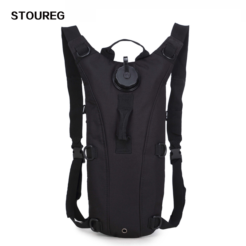 3L Water Bag, Molle Military Tactical Hydration Backpack, Outdoor Camping Water Pack, Nylon Water Bladder Bag For Cycling