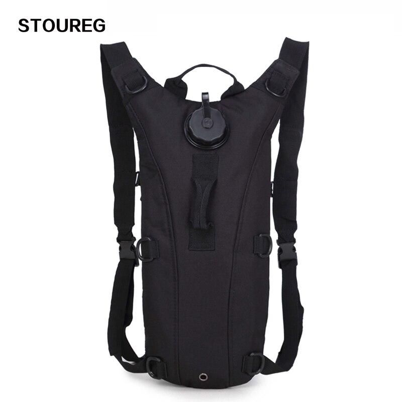 3L agua, bolsa Molle táctico militar mochila hidratación, al aire libre Camping Camelback, nylon Camel agua bolsa para ciclismo