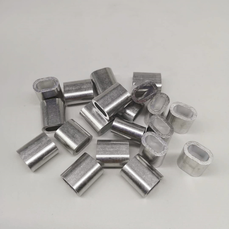 100pcs Pack 5.0mm Single Aluminum Sleeves For Rigging Trace Leader Crimps