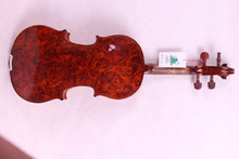 4/4 Violin European wood Maple Master Level,Powerful Sound Top grade New #1606
