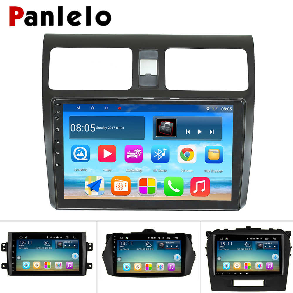 Autoradio Android Panlelo pour Suzuki SX4 Radio pour Suzuki Grand Vitara 2008 multimédia pour Suzuki Swift Wifi Bluetooth GPS AM/FM