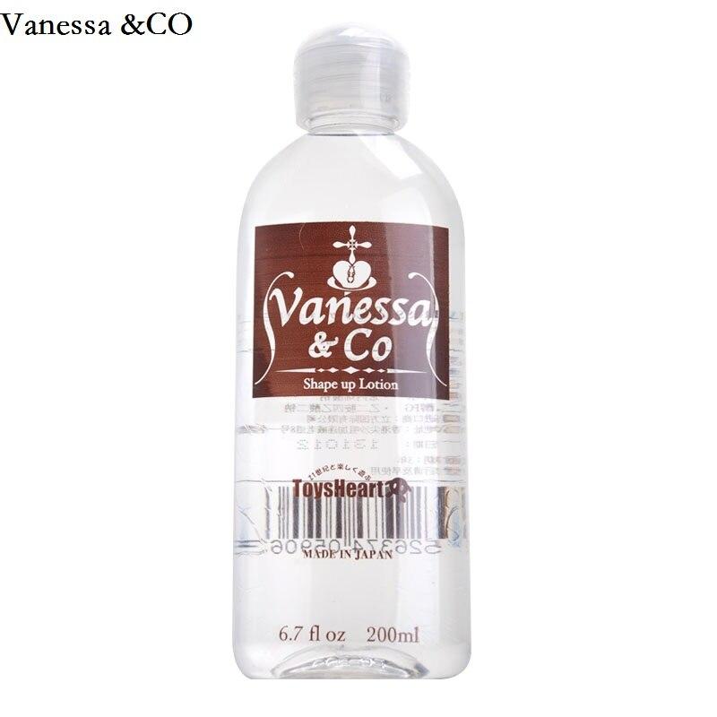 Vanessa & CO Japão Marca 200 ml de Água-solúvel em Óleo de Lubrificação Lubrificante Pessoal Lubrificação Sexual Anal Lubrificante Sexo
