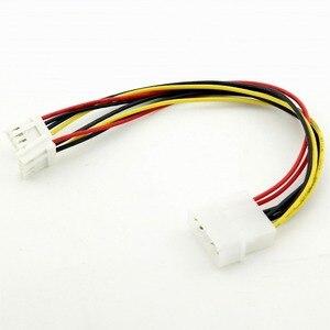 Image 5 - 1pc 4 Pin Molex naar Dual 4 Pin Floppy PC Power Y Splitter Adapter Connector Kabel voor Floppy Drive FDD 20cm