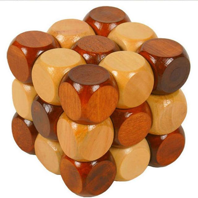 Classique Amusant 3D puzzle en bois Combinaison Modèle puzzle éducatif Jouets Loisirs En Bois Jouets Pour Enfants Un Passe-Temps Cadeau Magique Jouet