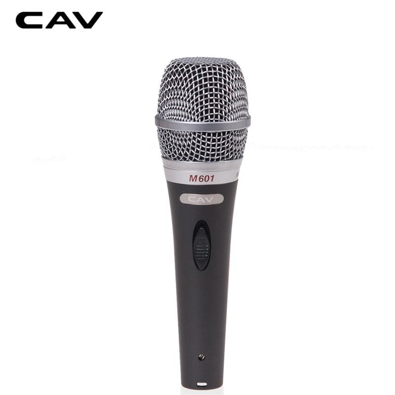 CAV M601 Microphone Kara OK Gray Wired Omnidirectional Cara OK Home Use Singing Speaking Microphones For Computer Mikrofon