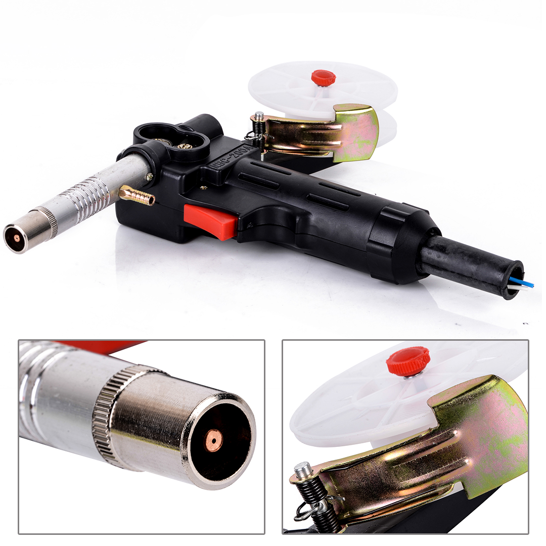 Mayitr 1pc Aluminum MIG Spool Gun Push Pull Feeder Welding Torch DC 24V Motor Without Cable  цены