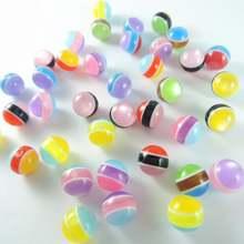 Новые 10 мм 200 шт Разноцветные Свободные круглые прозрачные