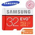 100% Оригинал SAMSUNG EVO + Карта Micro Sd 128 ГБ 16 Г 32 ГБ Class10 SDHC SDXC UHS-1 карт Памяти 256 ГБ MicroSD TF Карта 64 ГБ 80 МБ/с.