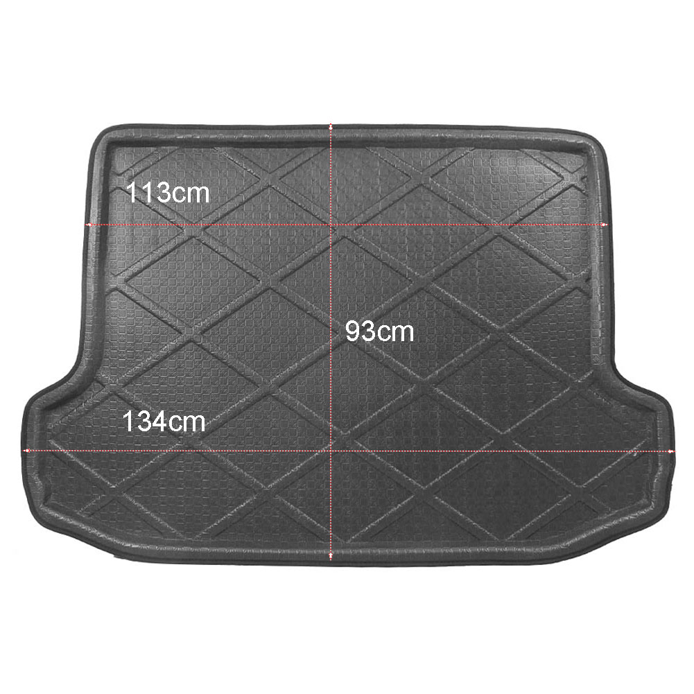 For Toyota RAV4 Rear Trunk Cargo Liner Boot Mat Floor Tray Carpet Mud Kick Protector Cov ...