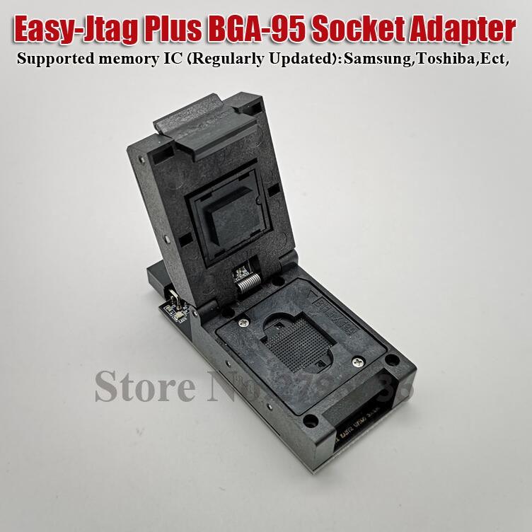 Easy Jtag Plus Box Easy Jtag Plus UFS BGA 95 Socket Adapter