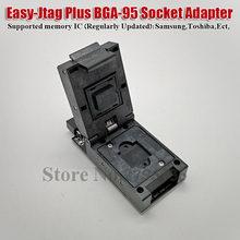 Z3X Jtag fácil Plus de fácil-Jtag más UFS BGA 95 adaptador de enchufe