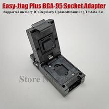 Z3X Jtag fácil más caja fácil Jtag Plus UFS BGA 95 adaptador de enchufe