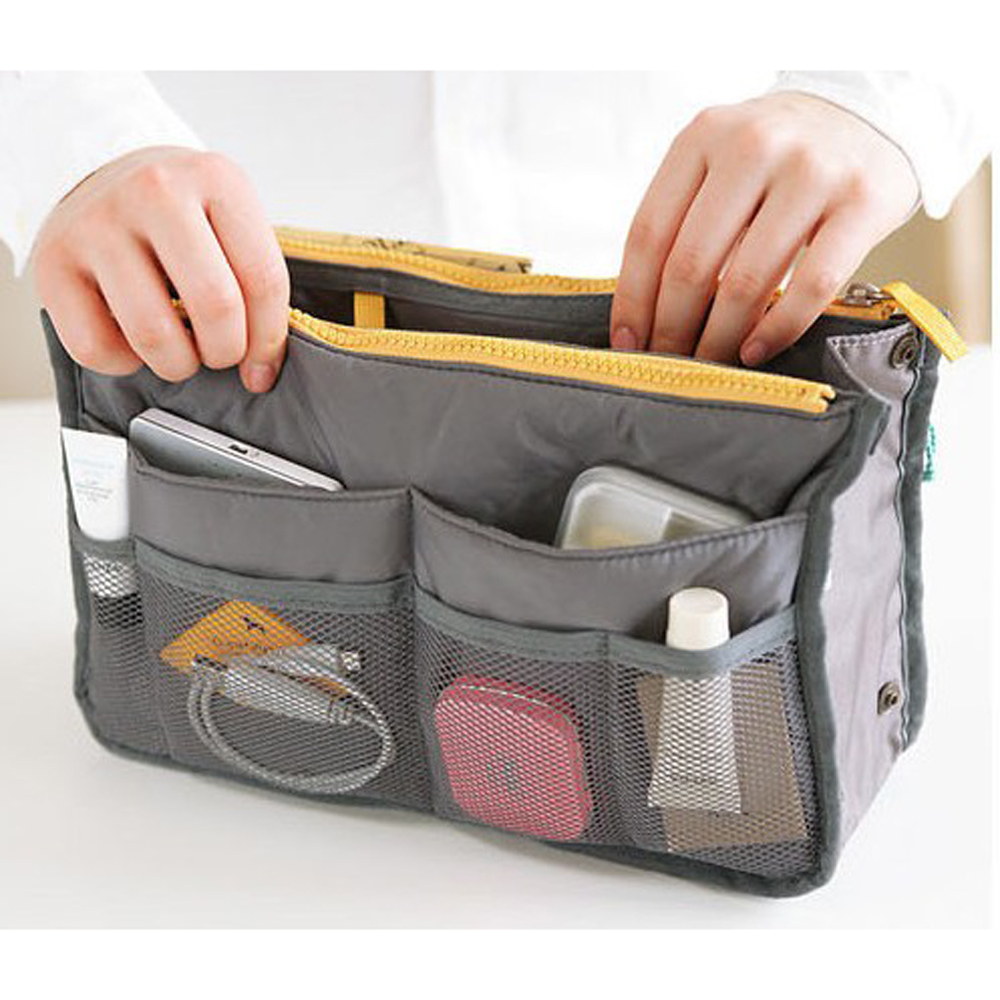 Beautician Toiletry Necessaire Women Neceser Travel Handbag Vanity Make Up Makeup Cosmetic Bag Beauty Case Purse Organizer Pouch