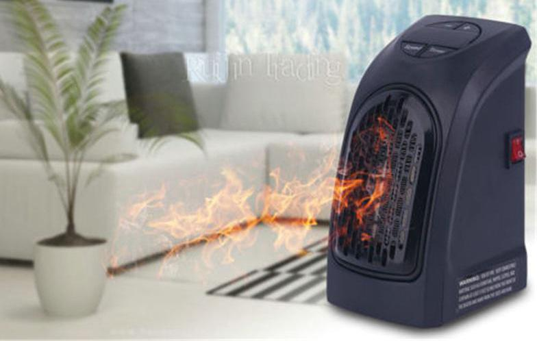 Heater mini Portable Ceramic Space Air Heater Warm Wall-Outlet Electric Radiator Home Room Heating Office Heater