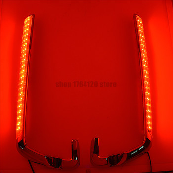 Sacoches Route King | Sacoche De Moto LED Marqueur Latéral Lentille Rouge Pour Harley Touring Electra Street Glide Road King 2014 2015 2016 2017 2018