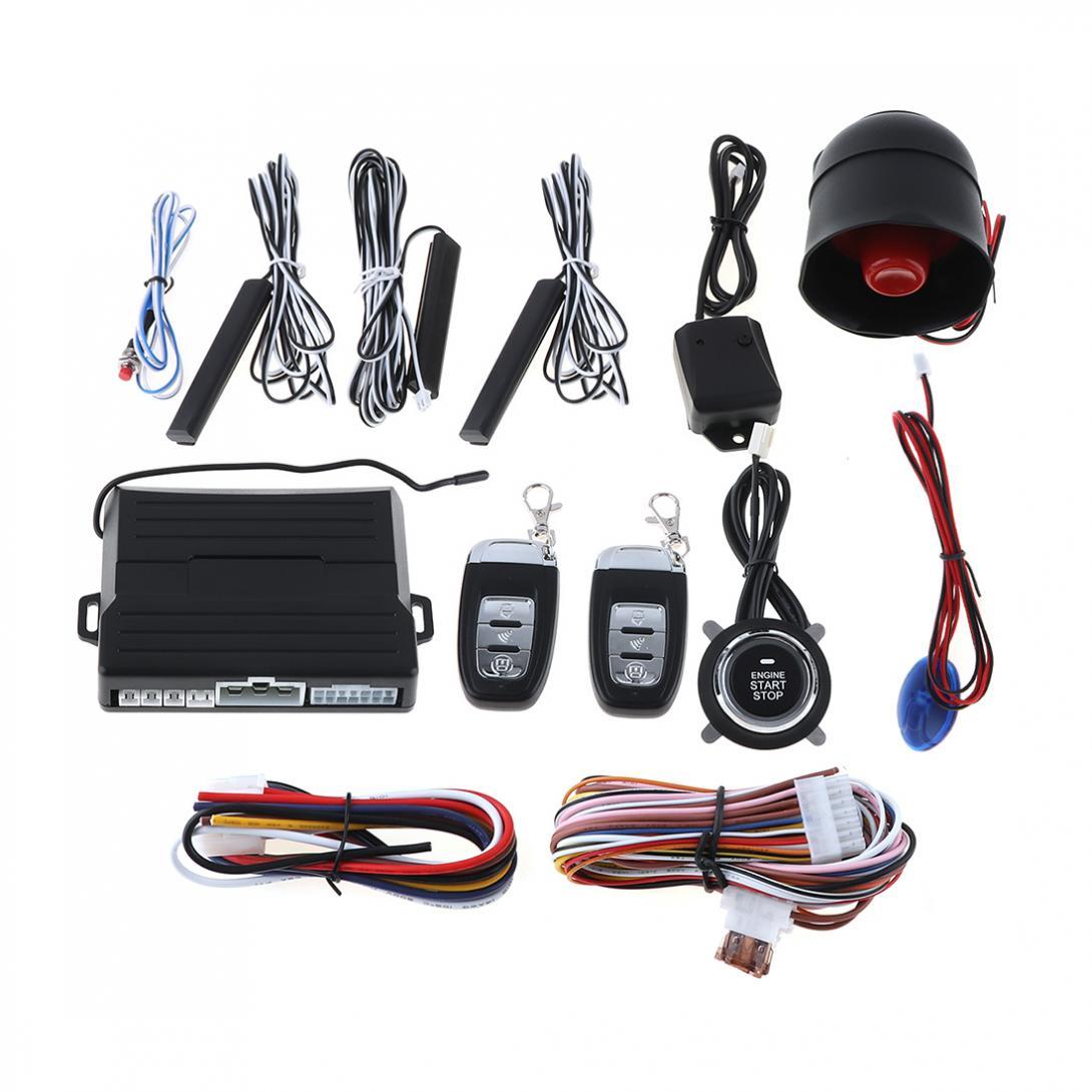 PKE автомобиль умный сигнал дистанционного запуска системы Start Stop двигатели для автомобиля системы Центральный замок для Авто Автозапуск ви...