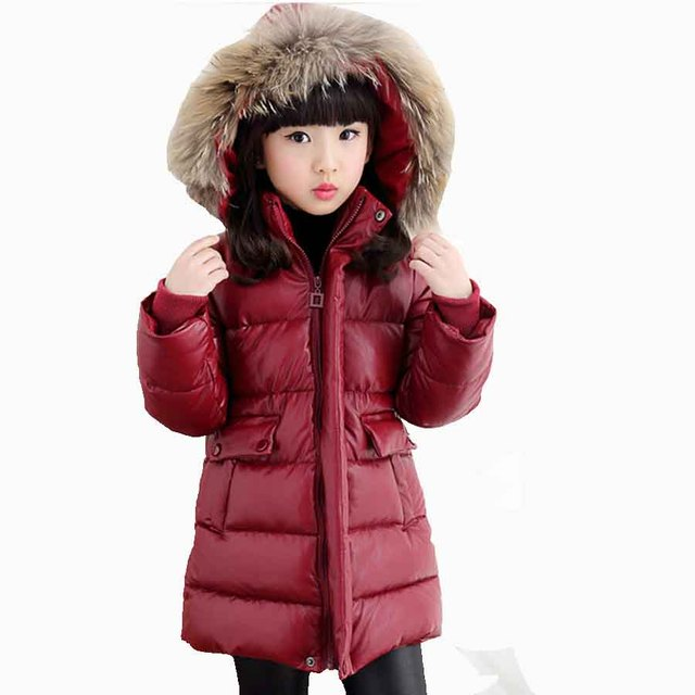 Girls Coat 2018 European Thick Warm Quilted Jackets For Boys ... : are quilted jackets warm - Adamdwight.com