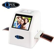 """Tragbare Film Scanner Auflösung 22 Mega Pixel 110 135 126KPK Negative Foto 35mm Scanner Digitale Film Konverter mit 2,4 """"LCD"""