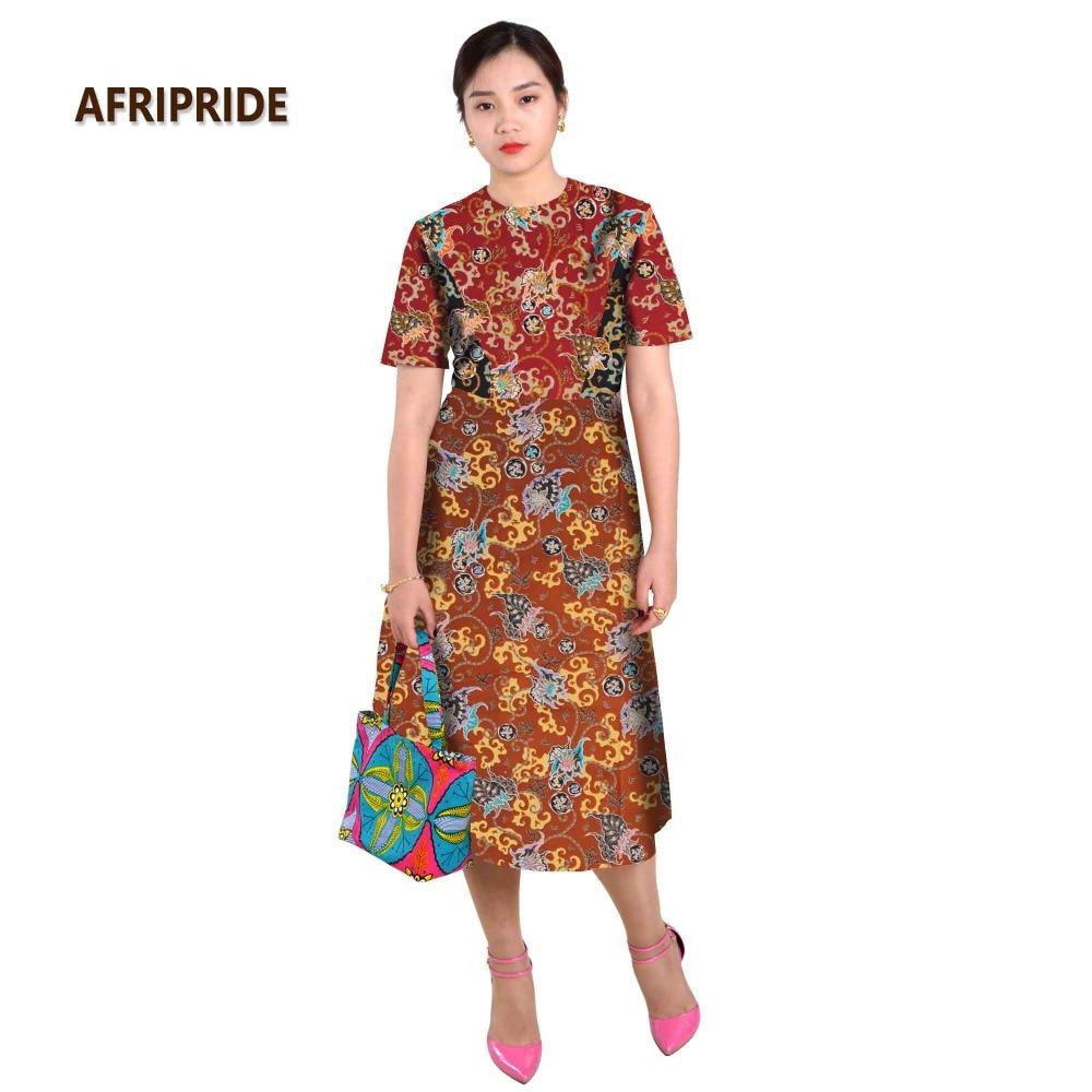 Afrikanska klänningar för kvinnor splitsning kjol sexiga stilar - Nationella kläder - Foto 4