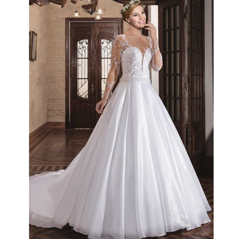 Wedding Gowns In China: Wedding Dress Bling Bridal Gowns Sexy Ball Gown Cheap