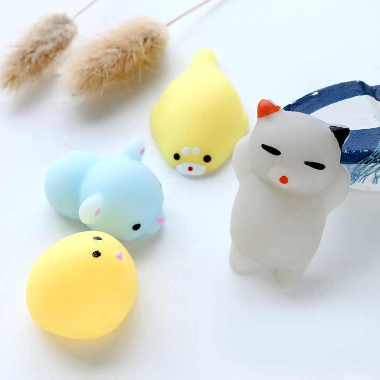 น่ารัก Mochi Squishy ของเล่นวันเกิด Party Favor สัตว์ Antistress บอลบีบนุ่มเหนียว Squishi บรรเทาความเครียดของเล่นเด็กของขวัญตกแต่ง