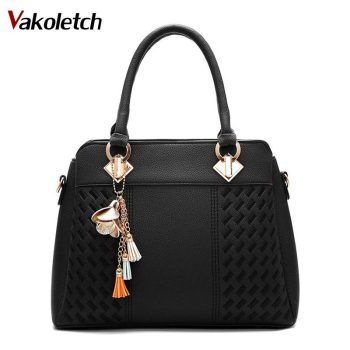 Designer Ladies Hand Bags High Quality PU Leather Shoulder Bag Fashion Women Handbags 1