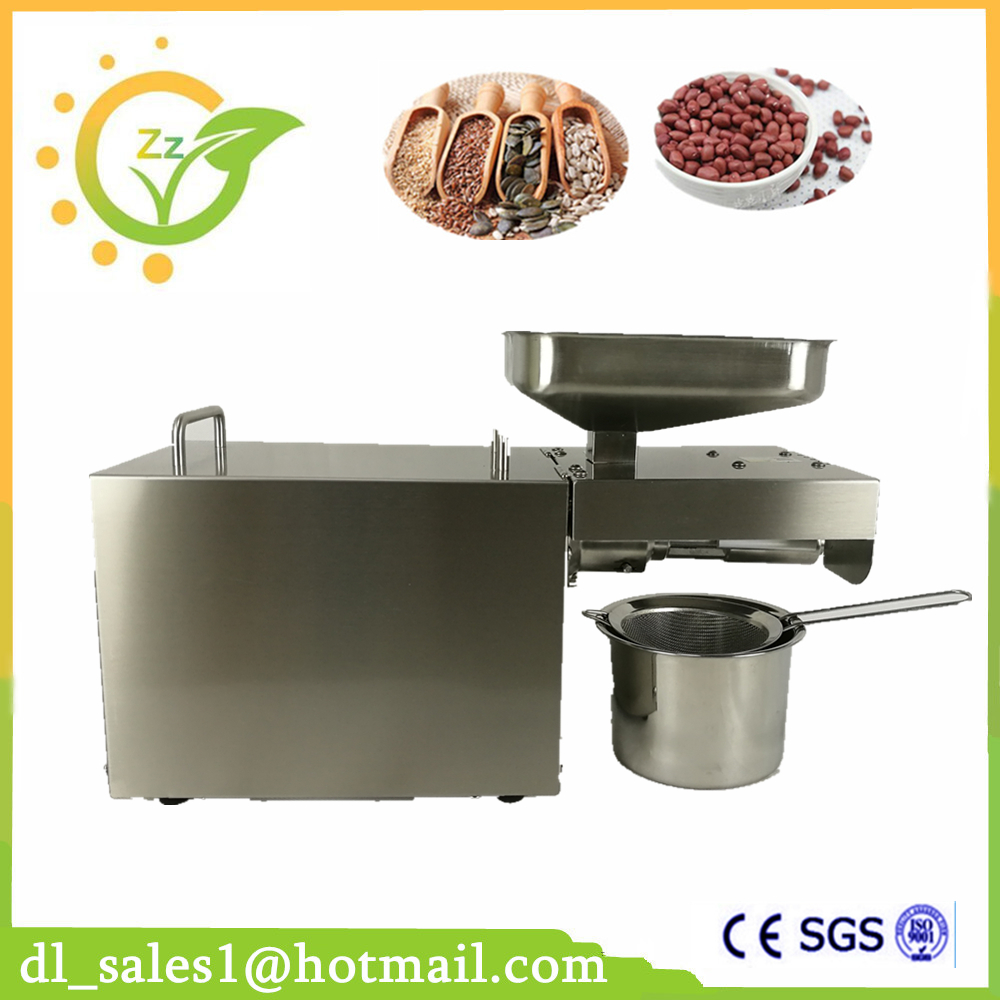 New Arrival 220V Automatic Oil Press Machine Nuts Seeds Oil Presser Pressing Machine All Stainless Steel High Oil Extraction кресло качели babyhit best rest brown