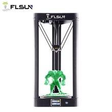 Новейший FLSUN-QQ-S 3d принтер 24 В мощность 32 бита сенсорный экран датчика автоматическое выравнивание высокой скорости 95% предсборка 3d принтер
