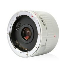 Viltrox C AF 2X השני TELEPLUS Teleplus פוקוס אוטומטי כפל 2.0X Extender טלה ממיר עבור Canon EOS EF עדשה 7DII 5D IV