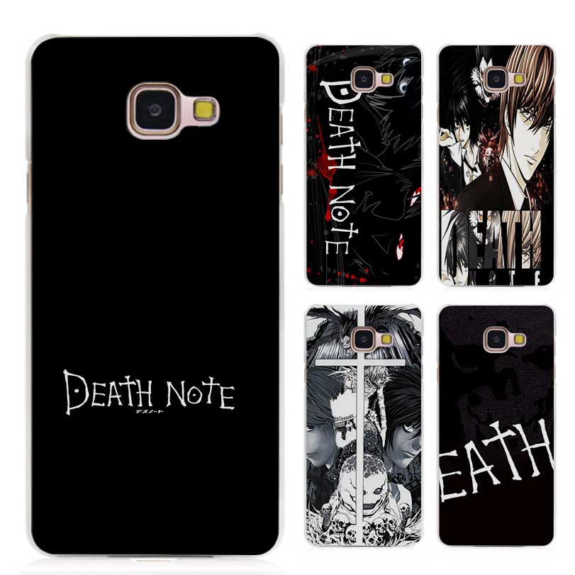 Hot sale Death Note Clear Case Cover Coque Shell for Samsung Galaxy A3 A5 A7 A8 2016 2017 A9 Pro