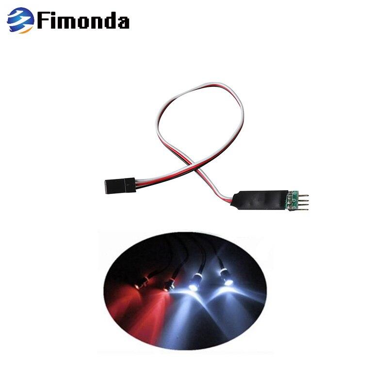 RC Car LED Light Control Switch 3 Channel Flash Lamp Light Control SwitchJCA.ji