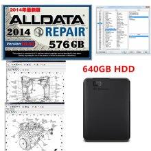 2020 quente reparação de automóveis alldata software v10.53 alldata diagnóstico automático todos os dados em 640gb hdd livre instalar suporte windows 7 / 8