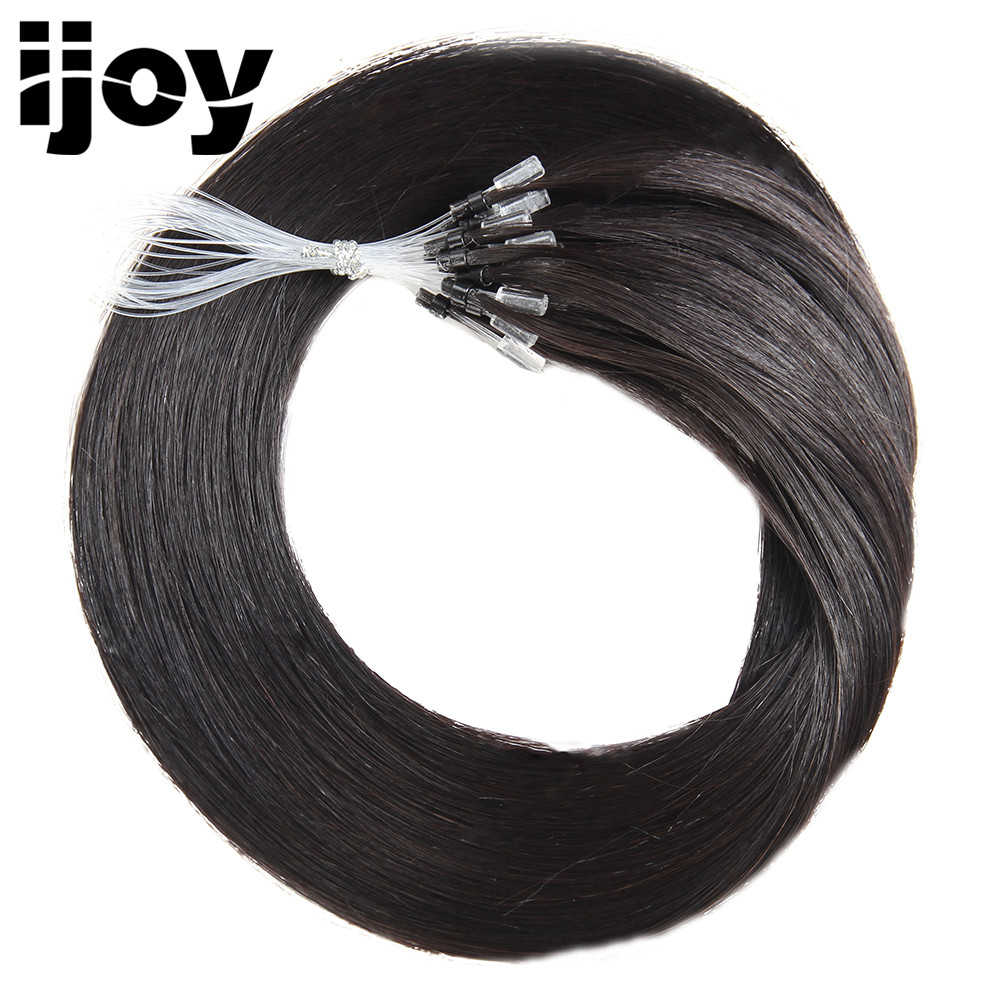 IJOY Loop Micro Ring Remy Blond Human Hair Extensions Bundles - Human Hair (For White)