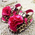 Малыш обувь обувь для девочек мода цветочного дизайна принцесса для девочек ребенок первый пешеходов летом маленькая девочка обувь